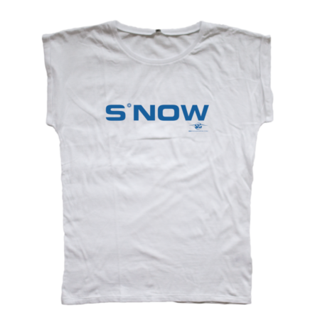 SG Snowboards Webshop - S*NOW T-SHIRT WHITE WOMEN