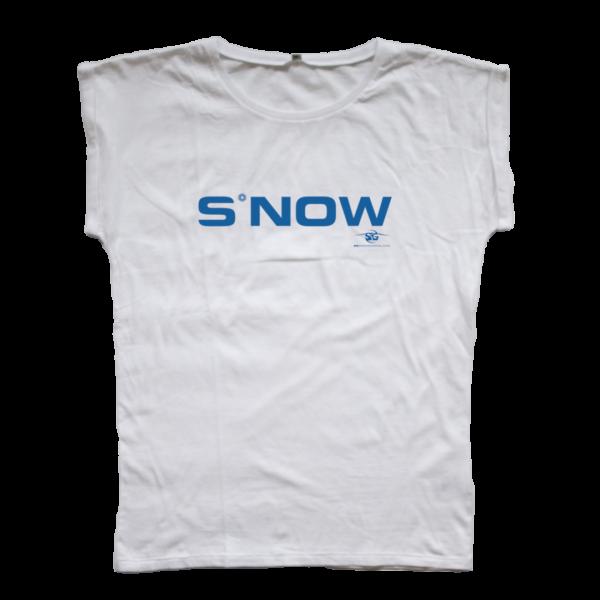 SG Snowboards Webshop - S*NOW T-SHIRT WHITE WOMEN
