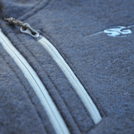SG Snowboards Webshop - Bonded Wool Jacket detail