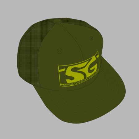 SG Snowboards Webshop - Trucker Caps green