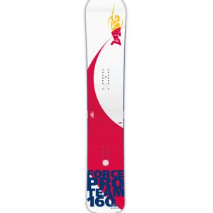 SG SNOWBOARDS FORCE SBX Snowboard front