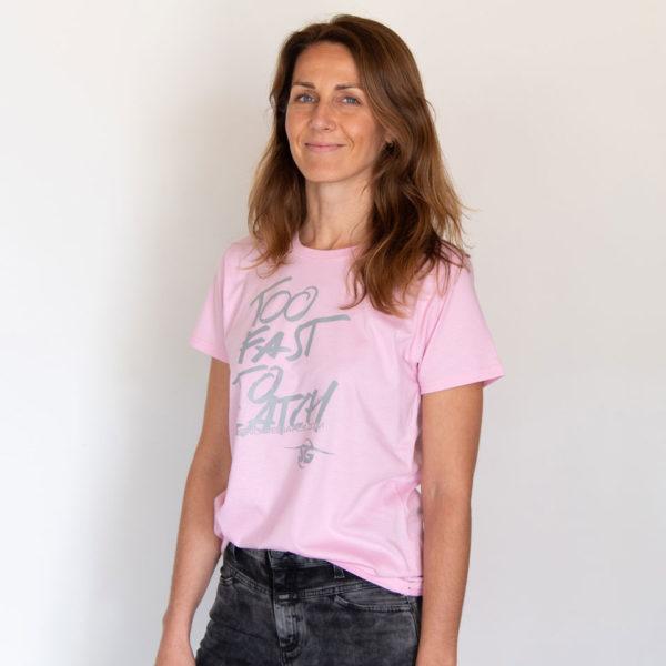 SG SNOWBOARDS T-Shirt Too Fast Women Sweet Rose